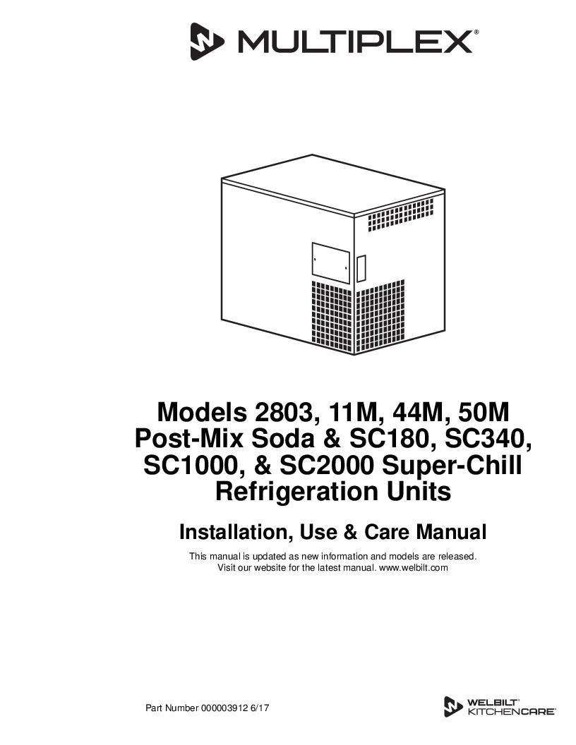 Multiplex Beverage Product Wiring Instructions For Bank Of North Georgia Soda Refrigeration Super Chil Non Erc 000003912
